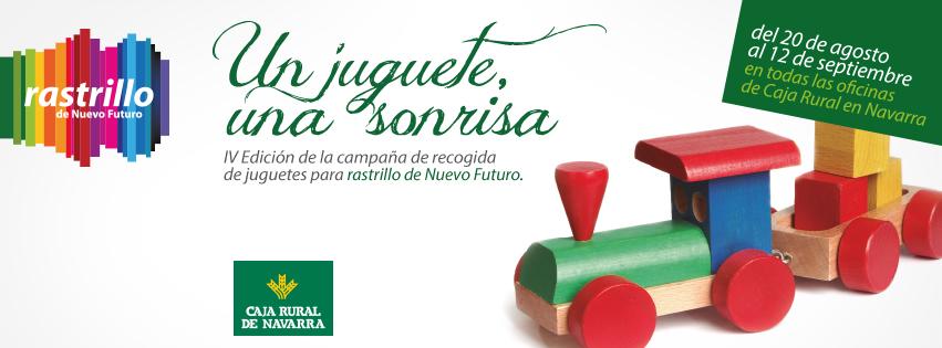Campa a de recogida de juguetes en oficinas de caja rural for Caja rural de navarra oficinas
