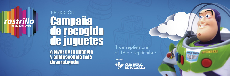 Imagen de la noticia Asociación Navarra Nuevo Futuro y Caja Rural de Navarra celebran su 10º edición de recogida de juguetes