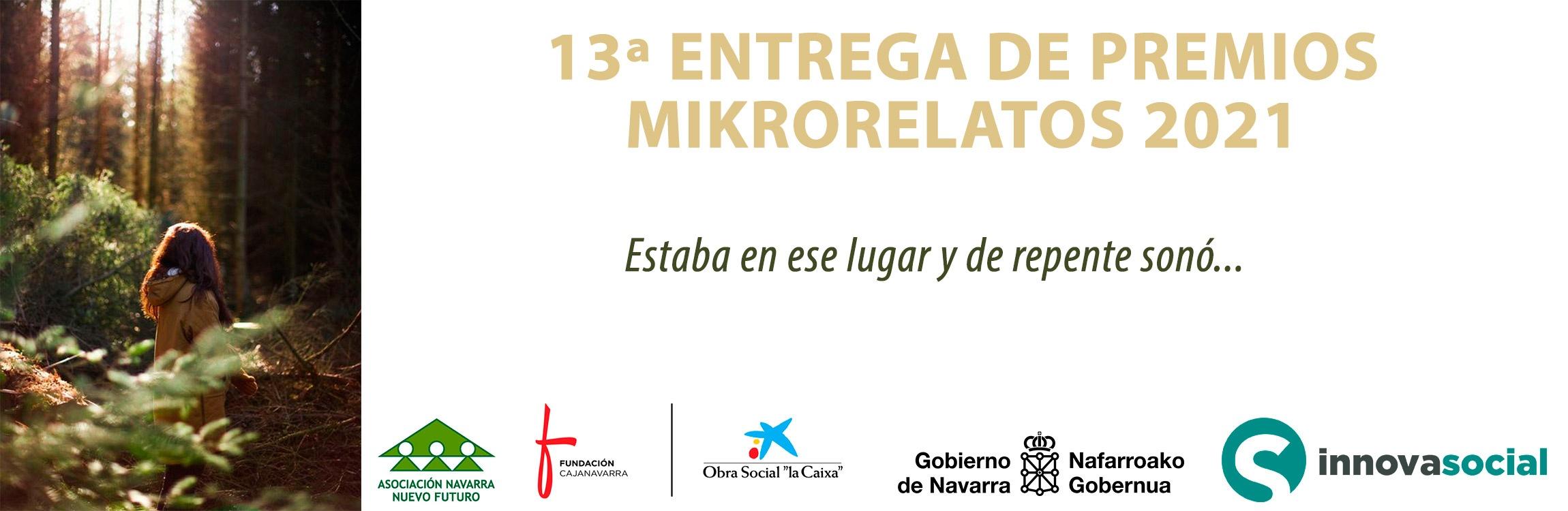 Imagen de la noticia 13ª Entrega de premios Mikrorelatos 2021