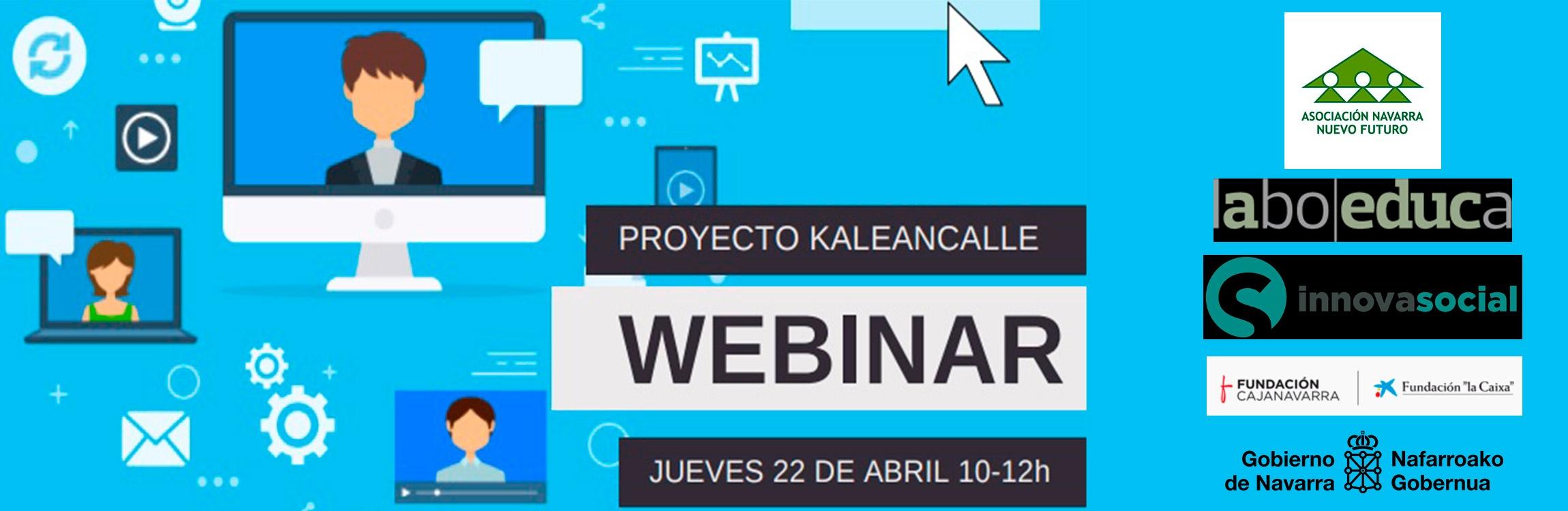 Imagen de la noticia Webinar #kaleancalle
